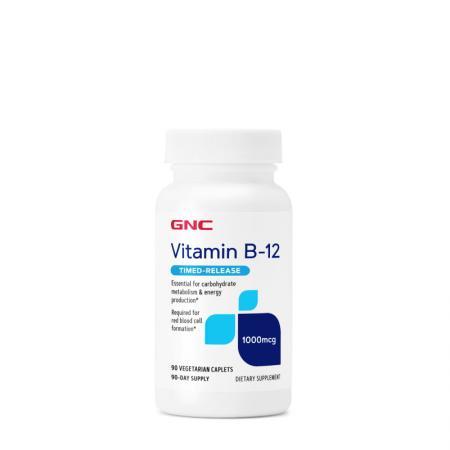 GNC Vitamin B-12 1000 mcg, 90 каплет