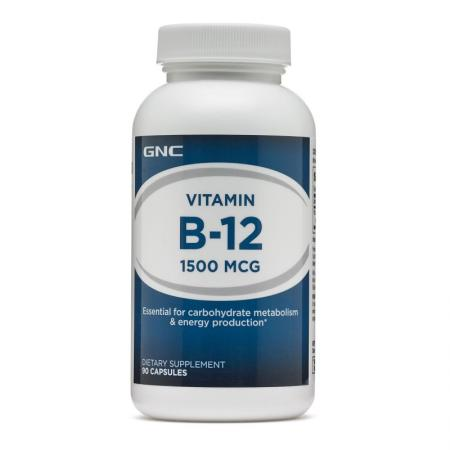 GNC Vitamin B-12 1500, 90 капсул