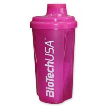 Шейкер BioTech USA, 700 мл - розовый