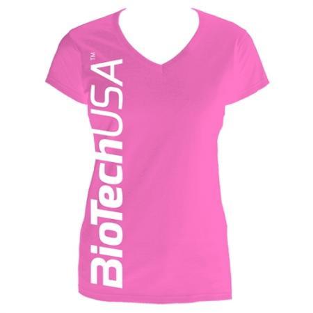 Футболка BioTech, розовая