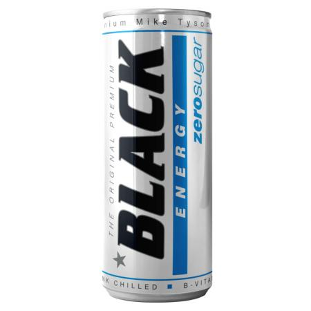 Black Energy Zero Sugar, 250 мл