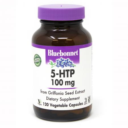 Bluebonnet 5-HTP 100 mg, 120 капсул