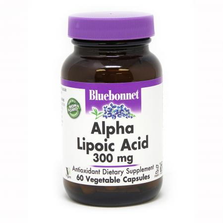 Bluebonnet Alpha Lipoic Acid 300 mg, 60 капсул