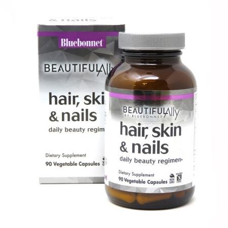 Bluebonnet Hair Skin and Nails, 90 капсул - Beautiful Ally