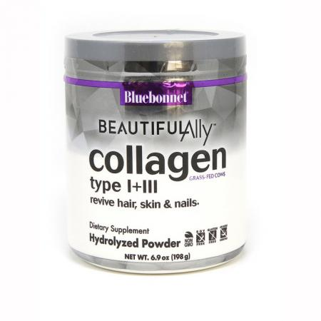 Bluebonnet Collagen Type I + III, 198 грамм - Beautiful Ally