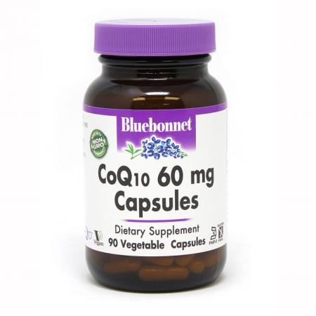 Bluebonnet CoQ10 60 mg, 90 вегакапсул