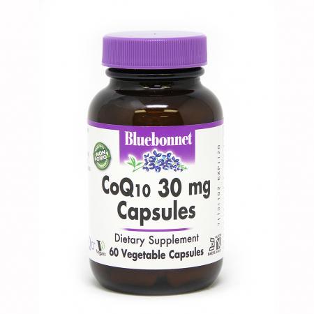 Bluebonnet CoQ10 30 mg, 60 вегакапсул