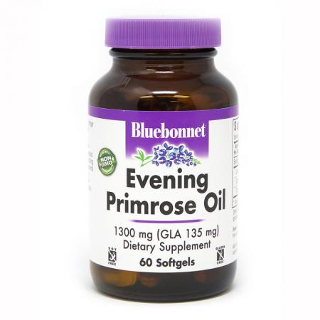Bluebonnet Evening Primrose Oil 1300 mg, 60 капсул