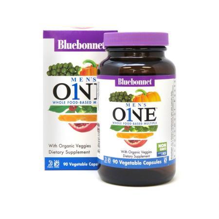 Bluebonnet Nutrition Mens ONE, 30 вегакапсул