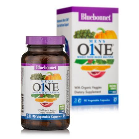 Bluebonnet Nutrition Mens ONE, 90 вегакапсул