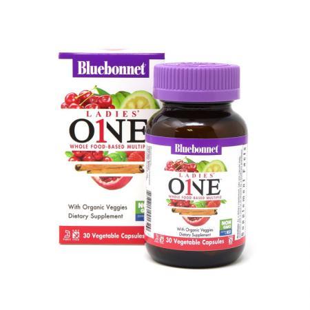Bluebonnet Nutrition Ladies ONE, 30 вегакапсул