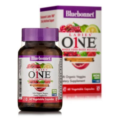 Bluebonnet Nutrition Ladies ONE, 60 вегакапсул