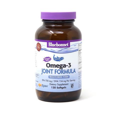 Bluebonnet Omega-3 Joint Formula, 120 капсул