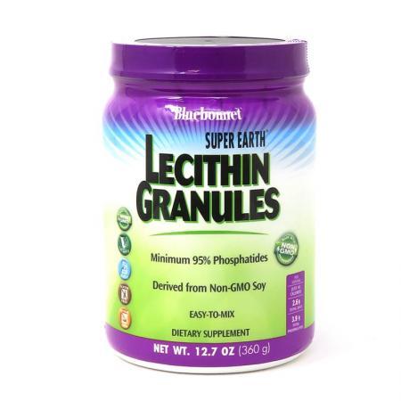 Bluebonnet Super Earth Lecithin Granules, 360 грамм