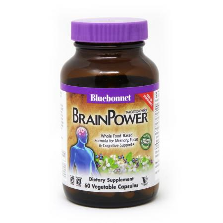 Bluebonnet Targeted Choice Brain Power, 60 вегакапсул