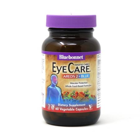Bluebonnet Nutrition Targeted Choice Eye Care Areds2 + Blue, 60 вегакапсул
