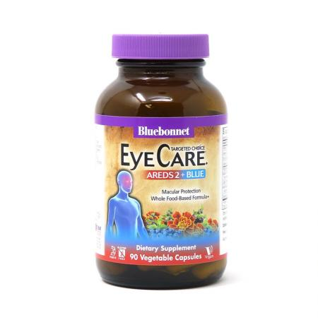 Bluebonnet Targeted Choice Eye Care Areds2 + Blue, 90 вегакапсул