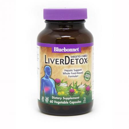 Bluebonnet Targeted Choice Liver Detox, 60 вегакапсул