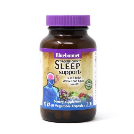 Bluebonnet Targeted Choice Sleep Support, 60 вегакапсул