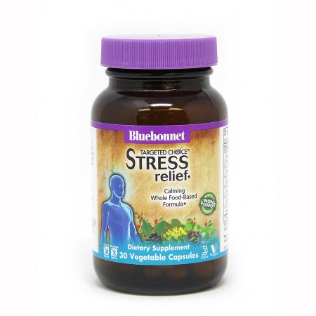 Bluebonnet Nutrition Targeted Choice Stress Relief, 30 вегакапсул