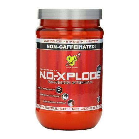 BSN N.O.-Xplode 2.0, 450 грамм non caffeinated