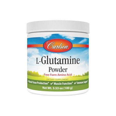 Carlson Labs L-Glutamine Powder, 100 грамм