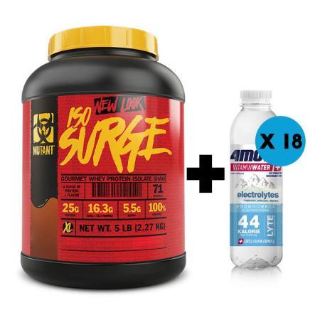 Mutant Iso Surge  2.27 кг + 4move Electrolite 556 мл x18 шт, SALE