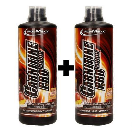 Ironmaxx L-Carnitine Pro Liquid 1 литр, 1+1 SALE