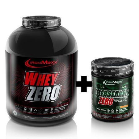 IronMaxx Whey Zero 2.27 кг + Berserker Zero 250 грамм, SALE