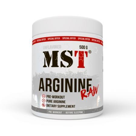 MST Arginine RAW, 500 грамм