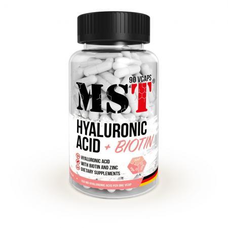MST Hyaluronic Acid + Biotin, 90 капсул