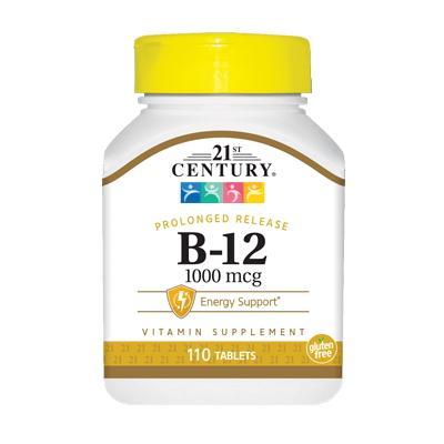 21st Century B-12 1000 mcg, 110 таблеток