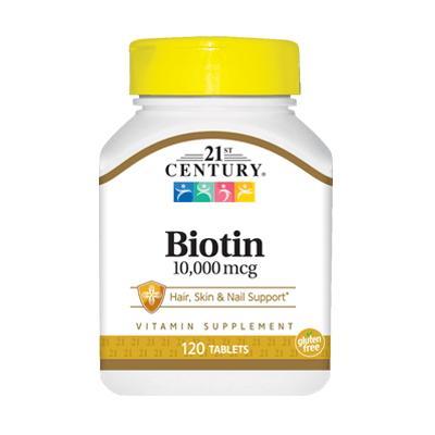 21st Century Biotin 10000 mcg, 110 таблеток