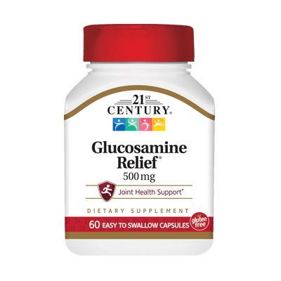 21st Century Glucosamine Relief 500 mg, 60 таблеток