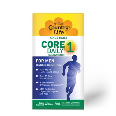Country Life Core Daily-1 for Men 50, 60 таблеток