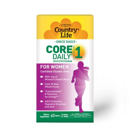 Country Life Core Daily-1 Multivitamins Women, 60 таблеток