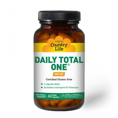 Country Life Daily Total One, 60 капсул - Iron Free