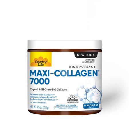Country Life Maxi-Collagen, 213 грамм
