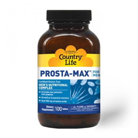 Country Life Prosta Max For Men, 100 таблеток