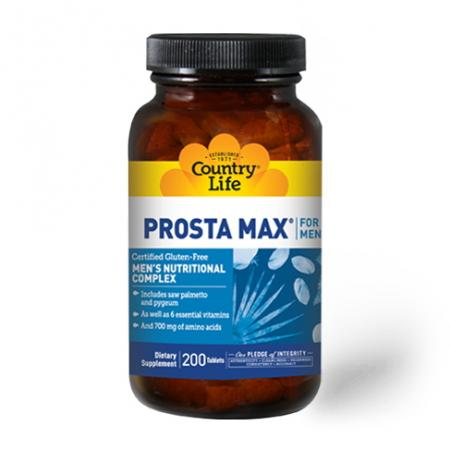 Country Life Prosta Max For Men, 200 таблеток
