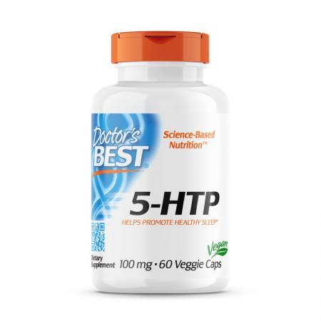 Doctor's Best 5-HTP 100 mg, 60 вегакапсул