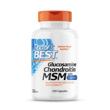 Doctor's Best Glucosamine Chondroitin MSM, 240 капсул