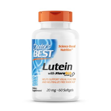 Doctor's Best Lutein with FloraGlo, 60 вегакапсул