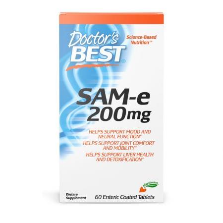 Doctor's Best SAM-e 200 mg, 60 таблеток