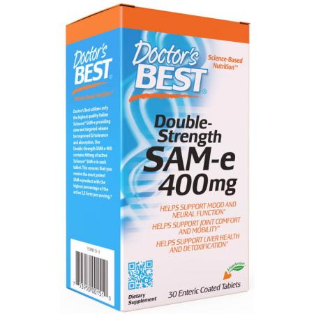 Doctor's Best SAM-e 400 mg, 30 таблеток
