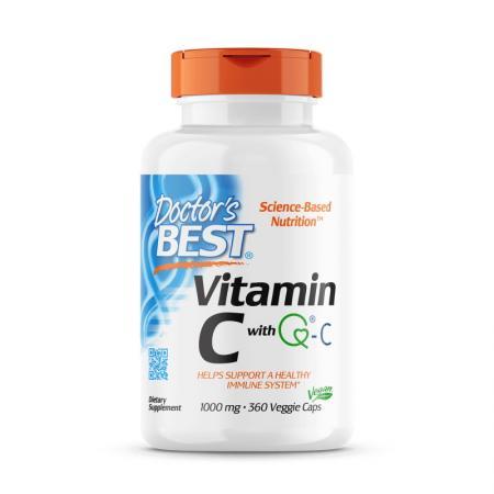 Doctor's Best Vitamin C 1000 mg, 360 вегакапсул