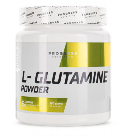 Progress Nutrition L-Glutamine, 500 грамм