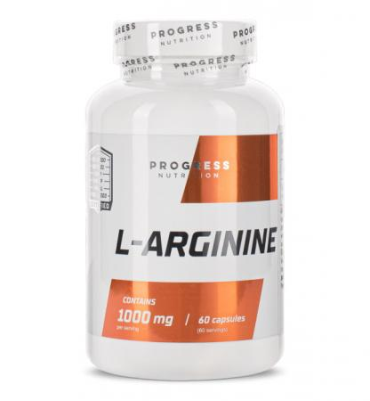 Progress Nutrition L-Arginine, 60 капсул