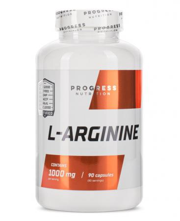 Progress Nutrition L-Arginine, 90 капсул