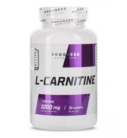 Progress Nutrition L-Carnitine, 30 таблеток